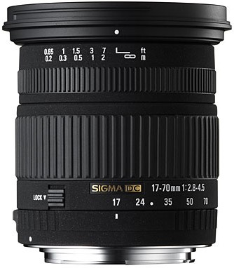 Super Wide Angle Zoom  HSM 17-70mm f/2.8-4.5 DC Macro Autofocus Lens for Nikon