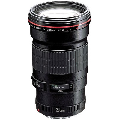 EF 200mm f/2.8L II USM, CANON AUTHORIZED USA DEALER WARRANTY INCLUDED
