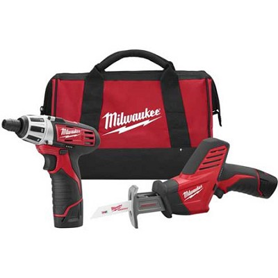 2490-22 M12 Cordless LITHIUM-ION 2-Tool Combo Kit