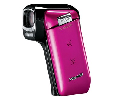 VPC-CG10P HD Digital Video and 10MP Photos (Pink)