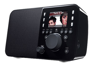 Squeezebox Radio - A compact all-in-one network music player (Black)