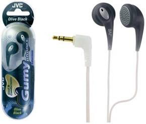 HAF-120B Ultra Soft/Comfortable Earbuds (Olive Black)