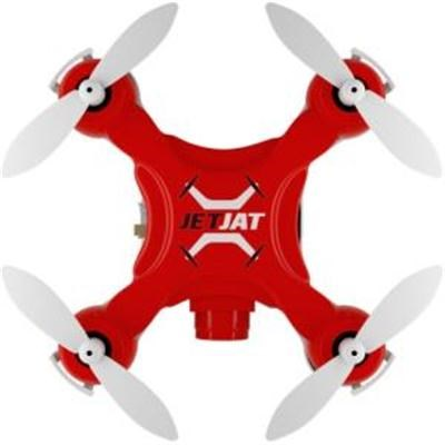 JetJat Nano Camera Video Drone in Red with 4-Channel Controller - MT-JJNCRD