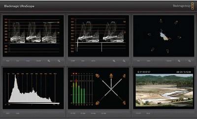 UltraScope 3 Gb/s SDI and Optical Fiber SDI Scope