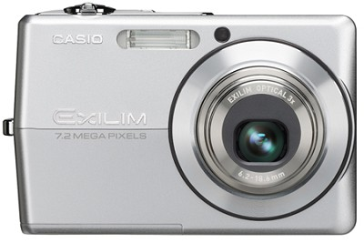 EX-Z700 7 MP with 3X Optical Zoom and Super Bright 'Hi-Res` 2.7` LCD (SIlver)