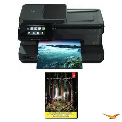 Photosmart 7520 e-All-In-One Printer with Photoshop Lightroom 5 MAC/PC