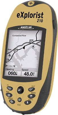 eXplorist 210 Robust Compact GPS Receiver
