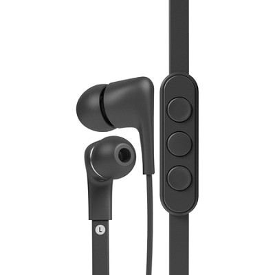 T00095 a-JAYS Five Earphones with 3-Button Remote and Mic for iOS - Black