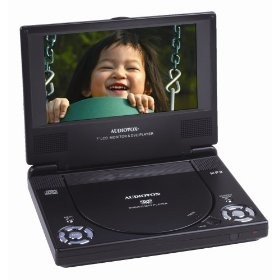 D1788 7 inch Portable DVD Player