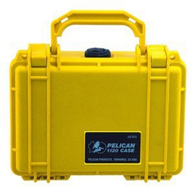 1120-000-240 - Case with Foam for Camera (Yellow)