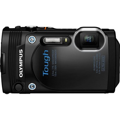 TG-860 Tough Waterproof 16MP Digital Camera with 3` LCD (Black) - Refurbished
