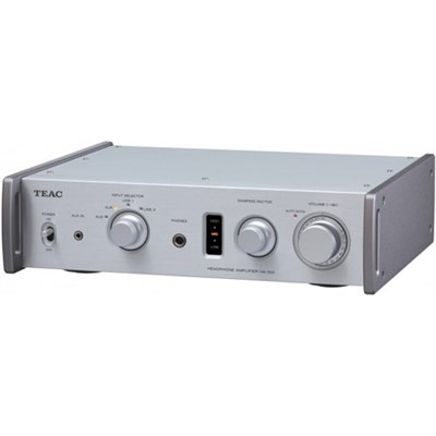 HA-501-B Dual Monaural Headphone Amplifier (Silver)