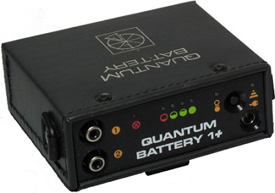 Battery 1+ 6 Volt Pack for Portable Flash OPEN BOX