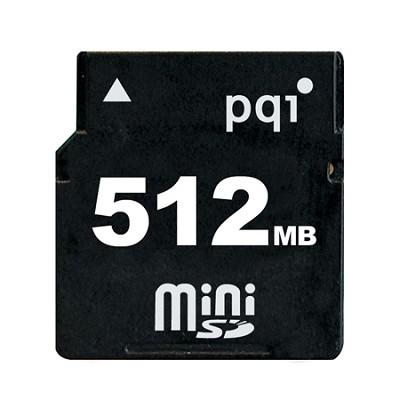 512MB `Mini` SD Memory Card