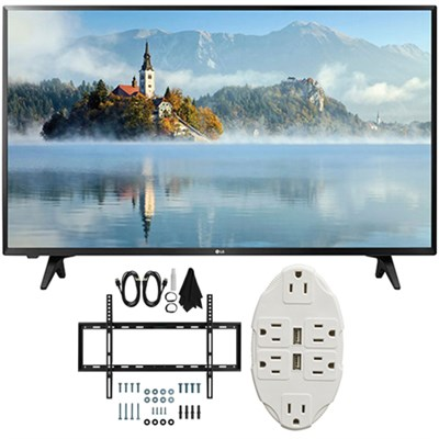 43 inch Full HD 1080p LED TV 2017 Model 43LJ5000 with Wall Mount Bundle