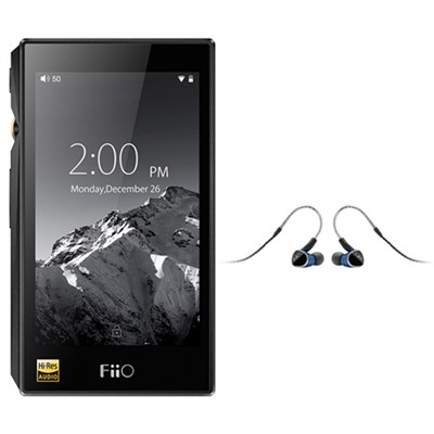 FiiO X5-III High Resolution Lossless Music Player (Black) + Ultimate Ears UE 900S Universal Fit Earphones