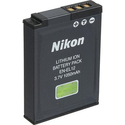 EN-EL12 Lithium Battery for Nikon Coolpix  S630, S70, S640, S8000, S6000
