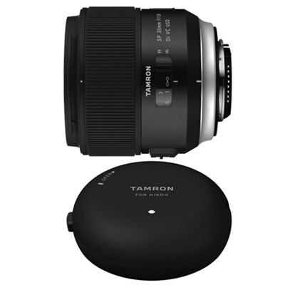 SP 35mm f/1.8 Di VC USD Lens and TAP-In-Console for Nikon Mount Cameras