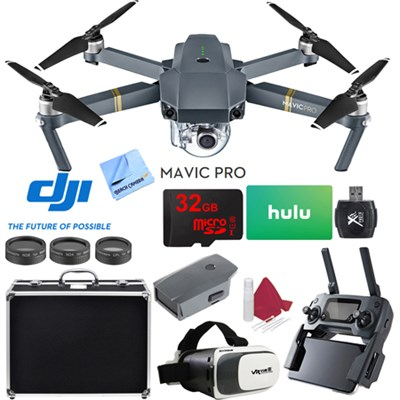 Mavic Pro Quadcopter Drone with 4K Camera and Wi-Fi Super Pack