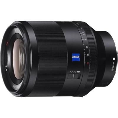 SEL50F14Z Zeiss Prime Full-Frame Planar T* FE 50mm F1.4 ZA Lens