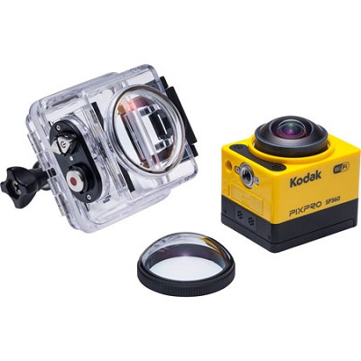 SP1 Waterproof Action Digital Camera w/ Extreme Pack 14MP, 1.5` LCD, Full HD