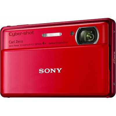 Cyber-shot DSC-TX100V Red Digital Camera