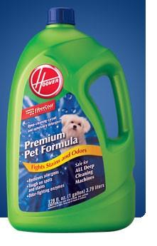 Premium Pet Formula Carpet Upholstery Detergent - 128 oz