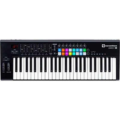 Launchkey 49 USB Keyboard Controller for Ableton Live, 49-Note MK2 Version
