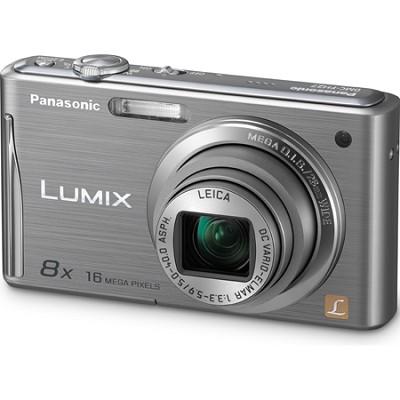 Lumix DMC-FH27 16MP 8x Zoom Silver Compact Digital Camera w/ 3.0` Touchscreen