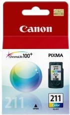 CL-211 Color Cartridge (2976B001) for iP2702, MX410, MX410 Printers