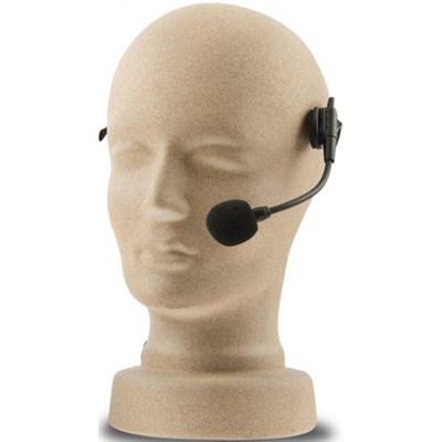 Headband Microphone with TA4F connector plug (Black) HBMTA4F