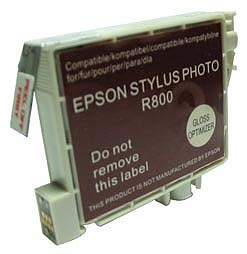 Replacement Ink Cartridge (Gloss Optimizer) for Epson Stylus R800/R1800