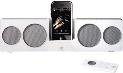 Pure-Fi Anywhere 2 Compact Speakers for iPod and iPhone (White)