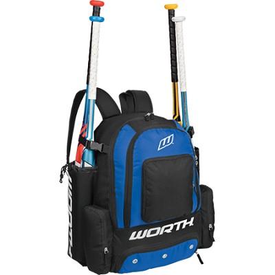 Comrade Baseball Equipment Sport Backpack - Royal Blue