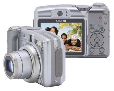 Powershot A720 IS Digital Camera - REFURBISHED