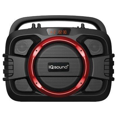 Bluetooth Wireless SoundBox (Red) IQ-2400BTRD