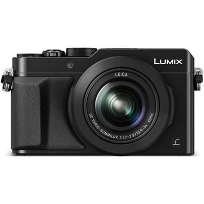 LUMIX LX100 Integrated Leica DC Lens Black Camera - OPEN BOX