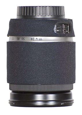 Lens Cover for the Canon 18-200 f/3.5-5.6 IS Lens - Black