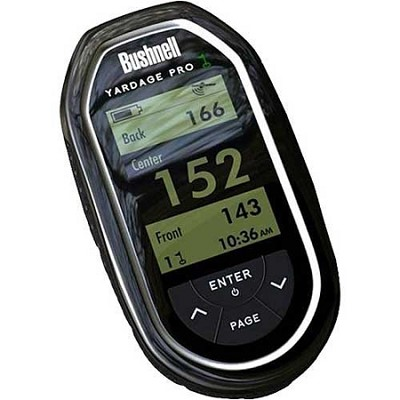 Golf GPS 368110 Yardage Pro GPS Rangefinder (Black)