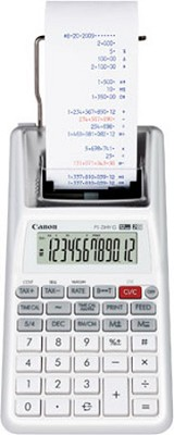 Canon P1-DHV G 12-Digit Palm Printing Calculator