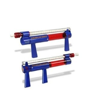 Twin Shooter in Blue and Red
