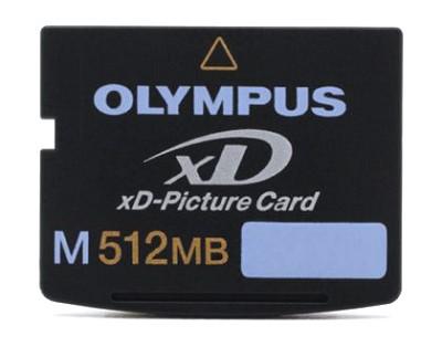 M512MB xD Memory Card