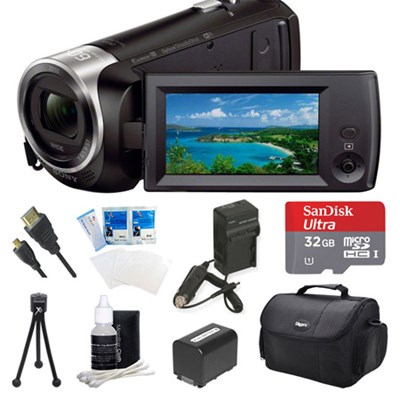 HDR-CX440/B Entry Level Full HD 60p Camcorder Kit