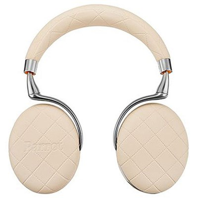 Zik 3 Wireless Noise Cancelling Bluetooth Headphones (Ivory Overstitched)