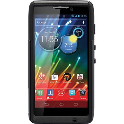 Commuter Series Case for Motorola RAZR HD - Retail Packaging - Black EMEA