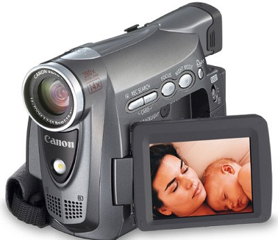 ZR400 Mini-DV Digital Camcorder