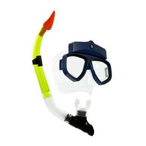 I-DIVE Mask and Snorkel with DVR Camera