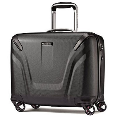 Silhouette Sphere 2.0 Spinner Hardside Business Case 18-inch Black 63676-1041