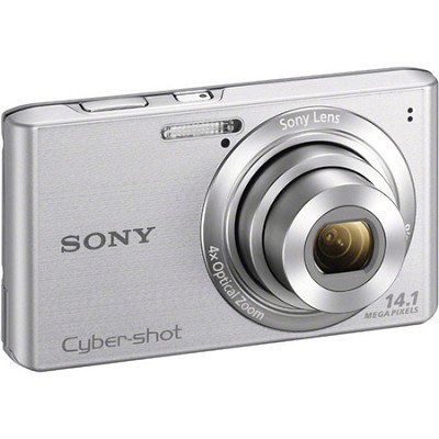 Cyber-shot DSC-W610 Silver 14.1 MP Compact Digital Camera