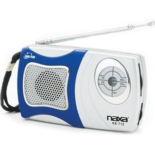 NR-712 AM/FM Mini Pocket Radio With Built In Speaker
